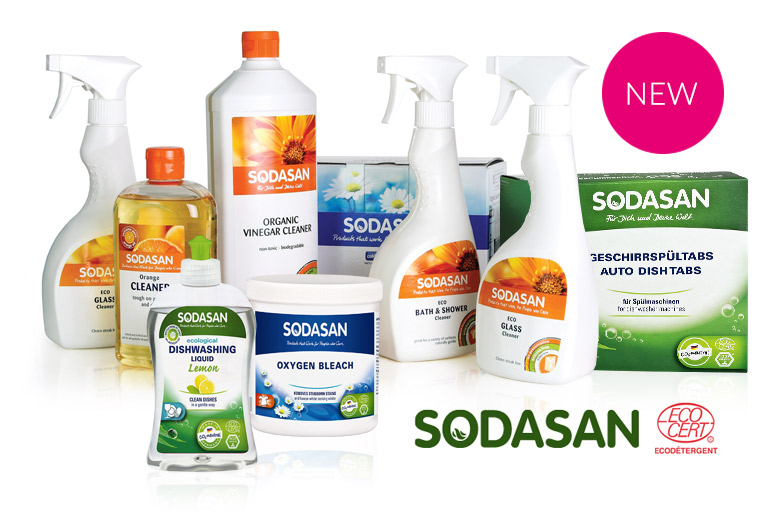 Meet NEW Sodasan cleaning and laundry