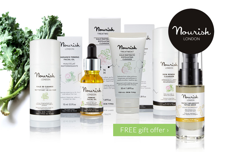 Free Replenishing Serum when you buy any 2 Nourish skincare products