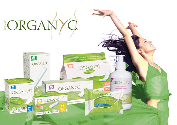 Organyc feminine care: 100% natural with no synthetic materials