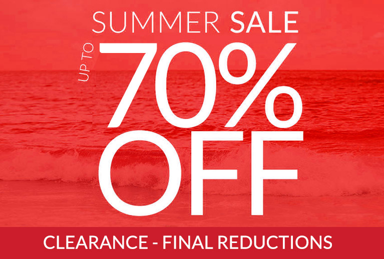 Summer Sale - now up to 70% off