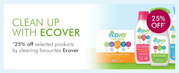 25% offselected Ecover