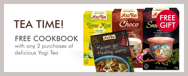 Free gift withYogi Tea